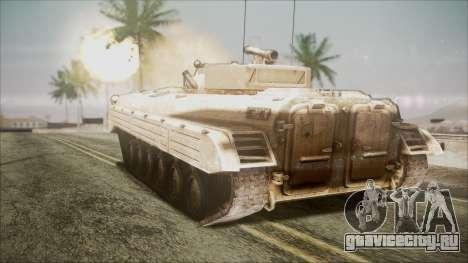 Call of Duty 4: Modern Warfare BMP-2 для GTA San Andreas вид слева
