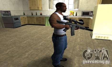 M4 with Optical Scope для GTA San Andreas третий скриншот