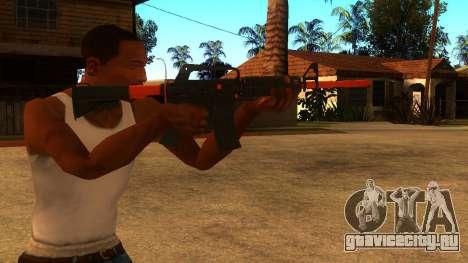 M4A1 Nitro для GTA San Andreas третий скриншот