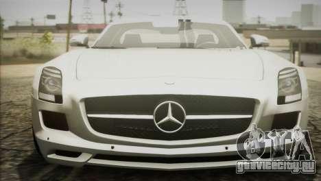 Mercedes-Benz SLS AMG 2013 для GTA San Andreas вид справа