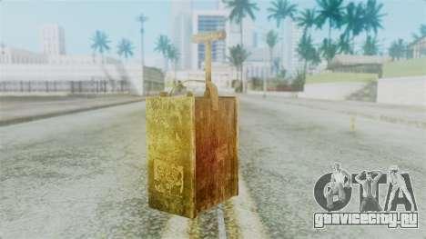 Red Dead Redemption Detonator для GTA San Andreas второй скриншот