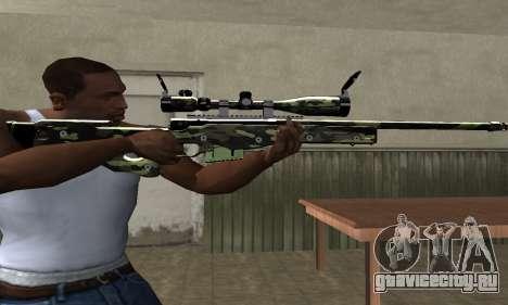Lithy Sniper Rifle для GTA San Andreas третий скриншот