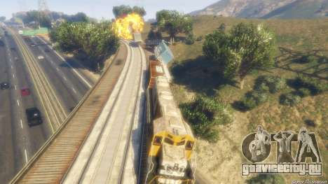 Railroad Engineer 3 для GTA 5 восьмой скриншот