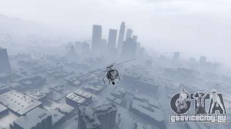 Singleplayer Snow 2.1 для GTA 5 шестой скриншот
