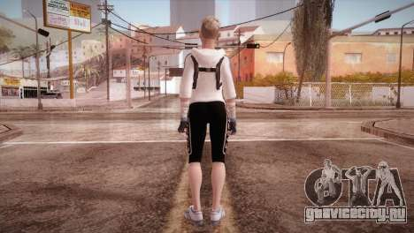 Endurance Cassie Cage from Mortal Kombat X для GTA San Andreas третий скриншот