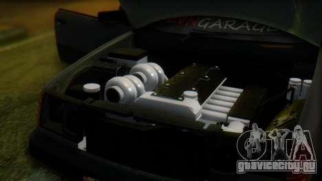 Mercedes-Benz W124 для GTA San Andreas вид сзади