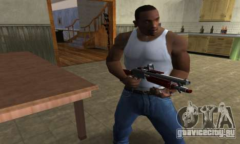Death Shotgun для GTA San Andreas второй скриншот