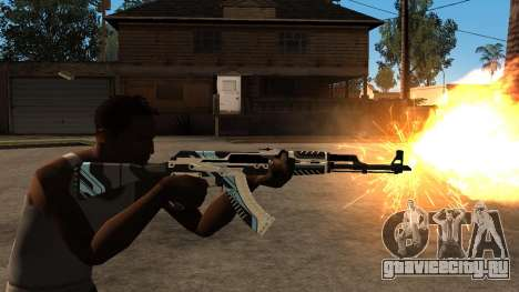 AK-47 Vulcan для GTA San Andreas четвёртый скриншот