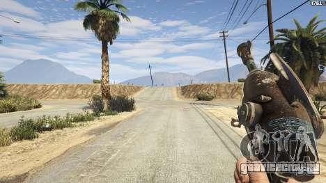Fallout 3: Alien Blaster для GTA 5 третий скриншот