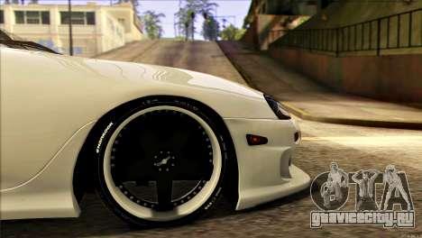 Toyota Supra 1998 E-Design для GTA San Andreas вид сзади