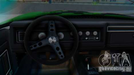 Invetero Coquette BlackFin v2 GTA 5 Plate для GTA San Andreas вид справа