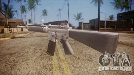 M16A3 from Battlefield Hardline для GTA San Andreas второй скриншот
