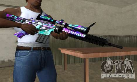Automatic Sniper Rifle для GTA San Andreas