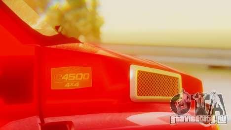 GMC Topkick C4500 для GTA San Andreas вид сбоку