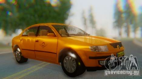 Samand Taxi для GTA San Andreas