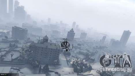 Singleplayer Snow 2.1 для GTA 5 третий скриншот