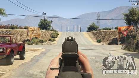BF4 AR160 для GTA 5 седьмой скриншот