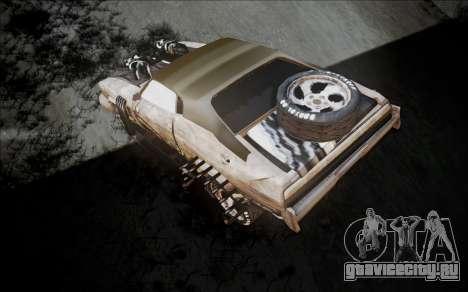 Mad Max 2 Ford Landau для GTA San Andreas вид сзади слева