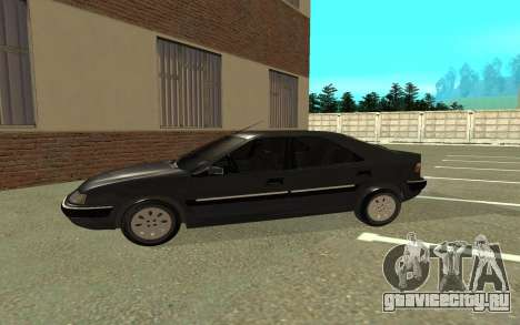 Citroen Xantia для GTA San Andreas вид сзади слева