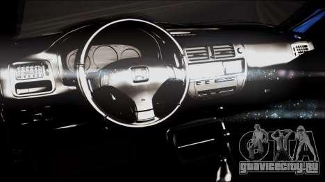 Honda Civic B.O. Yapım для GTA San Andreas вид справа