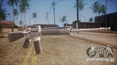 M16A3 from Battlefield Hardline для GTA San Andreas