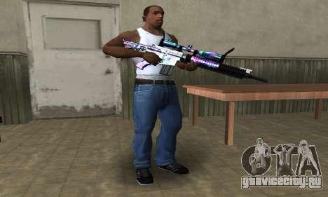 Automatic Sniper Rifle для GTA San Andreas второй скриншот