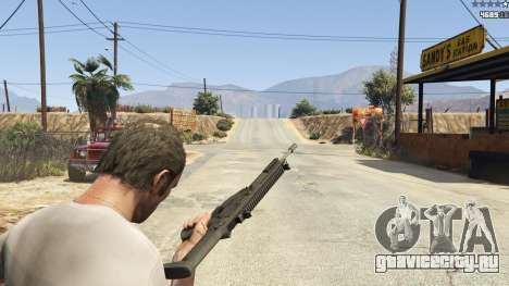 BF4 AR160 для GTA 5 девятый скриншот