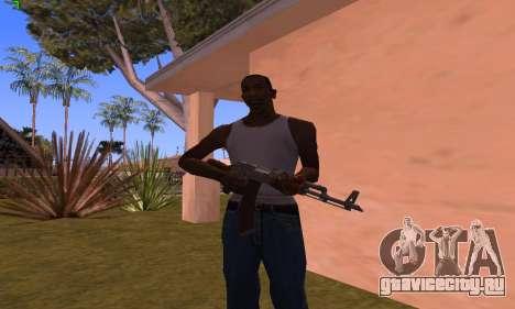 AK-47 from Battlefield Hardline для GTA San Andreas третий скриншот