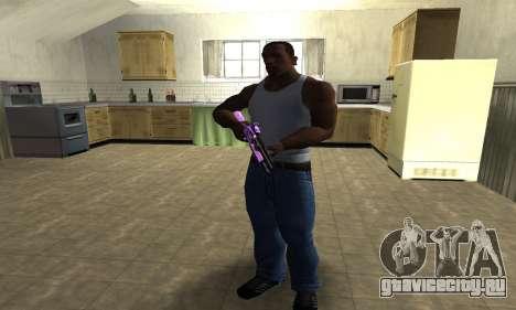 Purple World Shotgun для GTA San Andreas третий скриншот