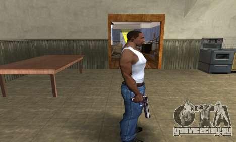 Purple Deagle для GTA San Andreas третий скриншот