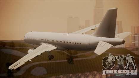 Airbus A320-200 для GTA San Andreas вид слева