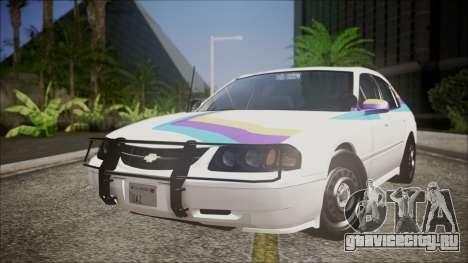 Chevrolet Impala FBI Slicktop для GTA San Andreas