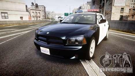 Dodge Charger 2010 LAPD [ELS] для GTA 4