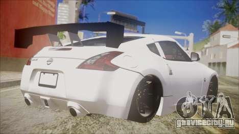 Nissan 370Z SPPC для GTA San Andreas вид слева