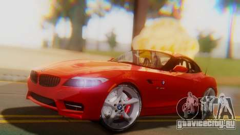 BMW Z4 sDrive35is 2011 2 Extras для GTA San Andreas