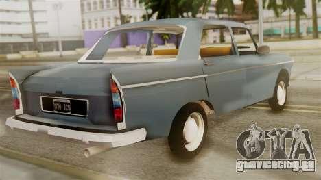Peugeot 404 для GTA San Andreas вид слева