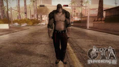 Killer Croc (Batman Arkham Origins) для GTA San Andreas второй скриншот