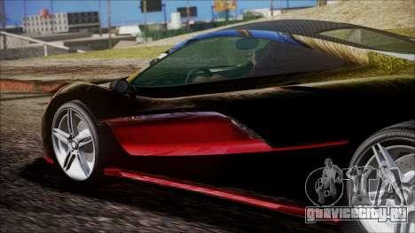 GTA 5 Progen T20 для GTA San Andreas вид справа