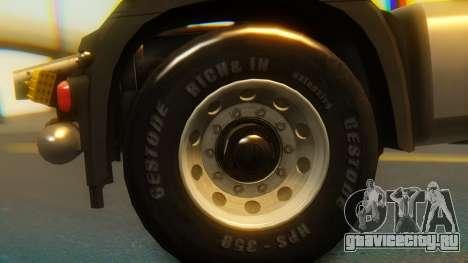 Mercedes-Benz Actros MP4 Stream Space Black для GTA San Andreas вид справа