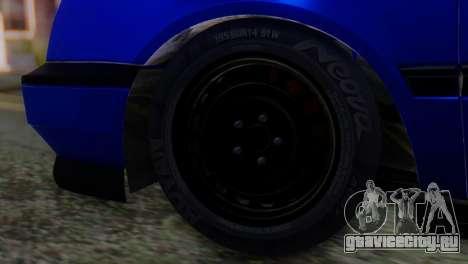 Volkswagen Golf 3 Pink Floyd для GTA San Andreas вид сзади слева