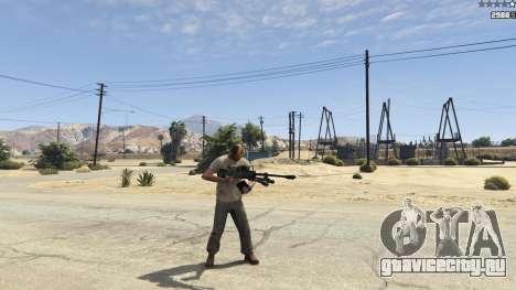 Halo UNSC: Sniper Rifle для GTA 5 шестой скриншот