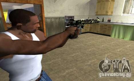 Камуфляжный Deagle для GTA San Andreas второй скриншот
