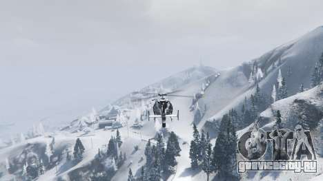 Singleplayer Snow 2.1 для GTA 5