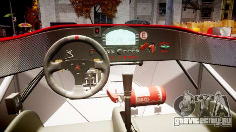 Radical SR8 RX 2011 [6] для GTA 4 вид изнутри