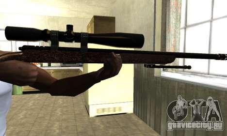 Gold Sniper Rifle для GTA San Andreas третий скриншот