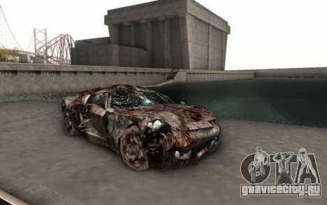 Bullshit для GTA San Andreas вид сзади слева