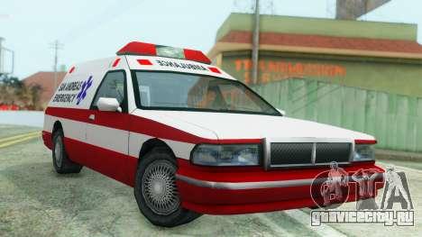 Premier Ambulance для GTA San Andreas