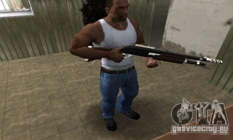 Biggie Shotgun для GTA San Andreas третий скриншот