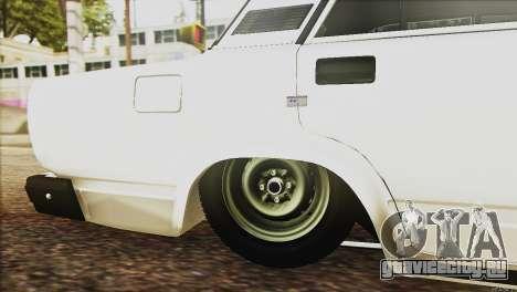 ВАЗ 2107 E-Design для GTA San Andreas вид сбоку