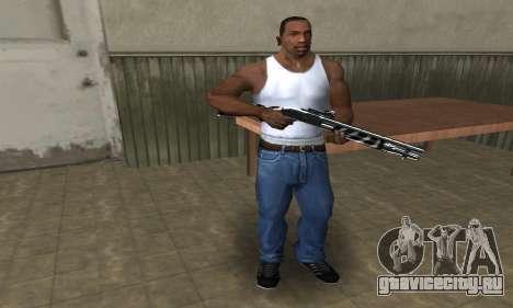 Two Lines Shotgun для GTA San Andreas второй скриншот